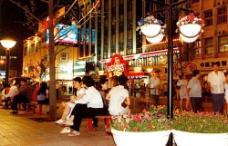 王府井開街之夜圖片