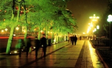 西長安街夜景圖片