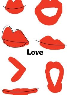口红印图片图片