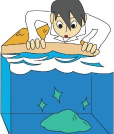 地壳运动漫画图片