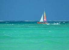 大海帆船图片