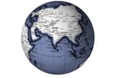 地球儀图片