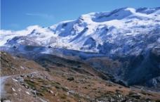 雪山冰川图片