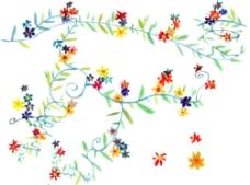 花朵绘画图片