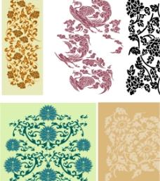 中国花纹图片