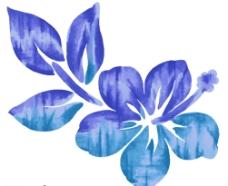 韩国卡通花朵素材图片