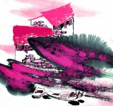 水墨风格——秋图片